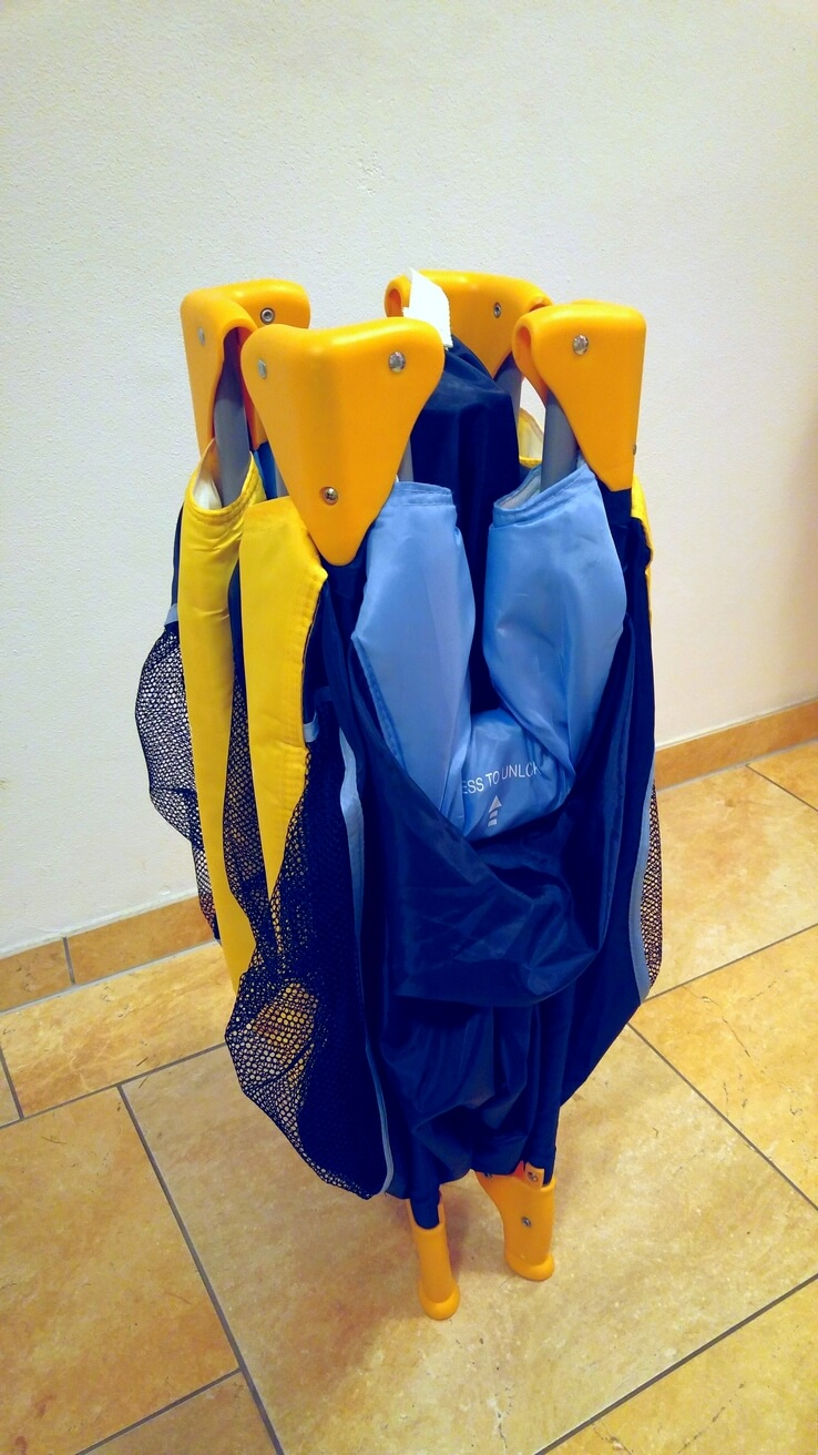 babyreisebett klappmechanismus