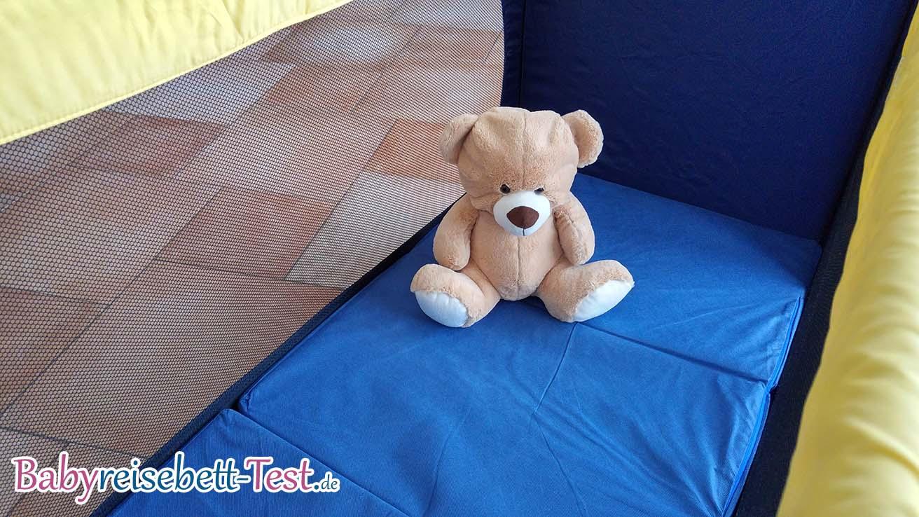 babyreisebett vergleich teddy