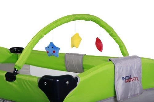 infantastic krb01grün Reisebett für Kinder, grün - 2