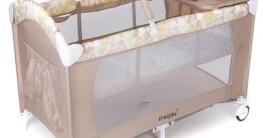 Froggy® Kinderreisebett CPL02 Beige - 2