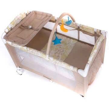 Froggy® Kinderreisebett CPL02 Beige - 7